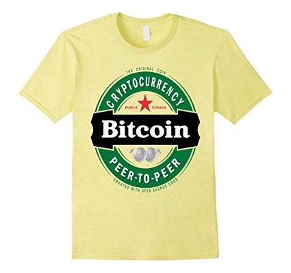 Bitcoin 2018 BTC Logo Polera