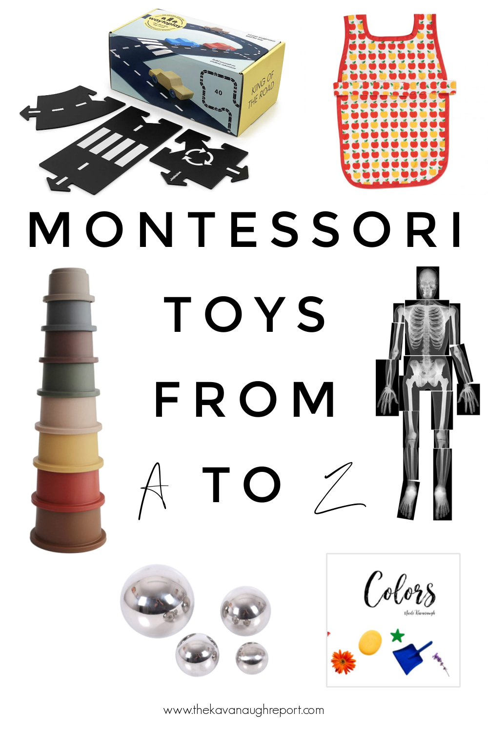 Montessori friendly toys, books, and games from A to Z! This gift list has a little something for every child!