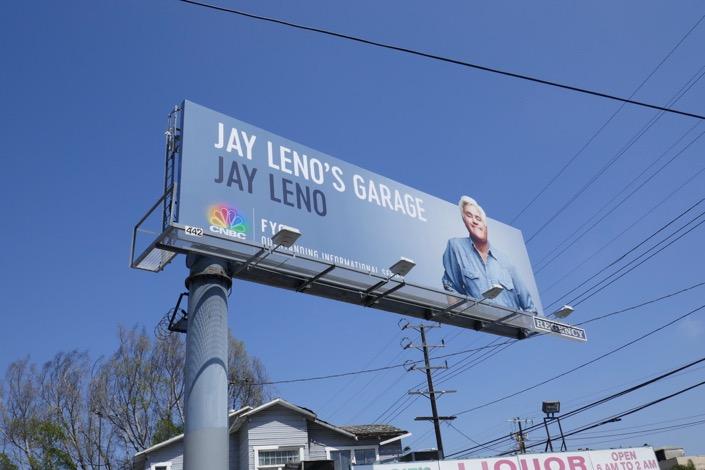 Jay Leno 2019 Emmy FYC billboard