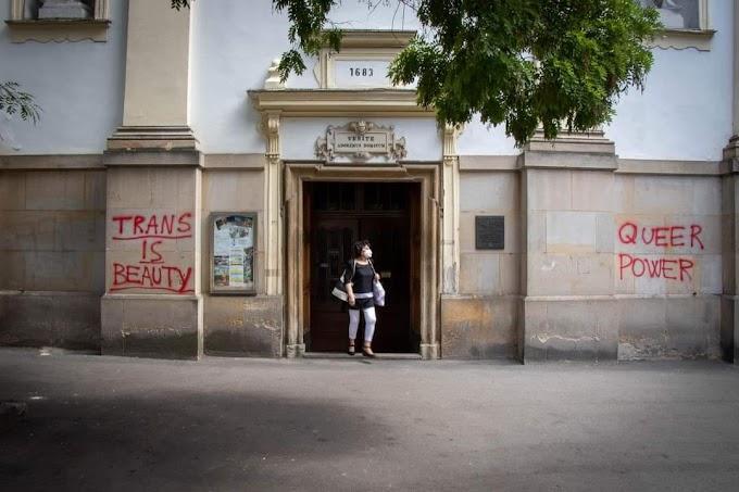 Egész Szlovákia felháborodott az LMBTQ-aktivisták templomrongálásán