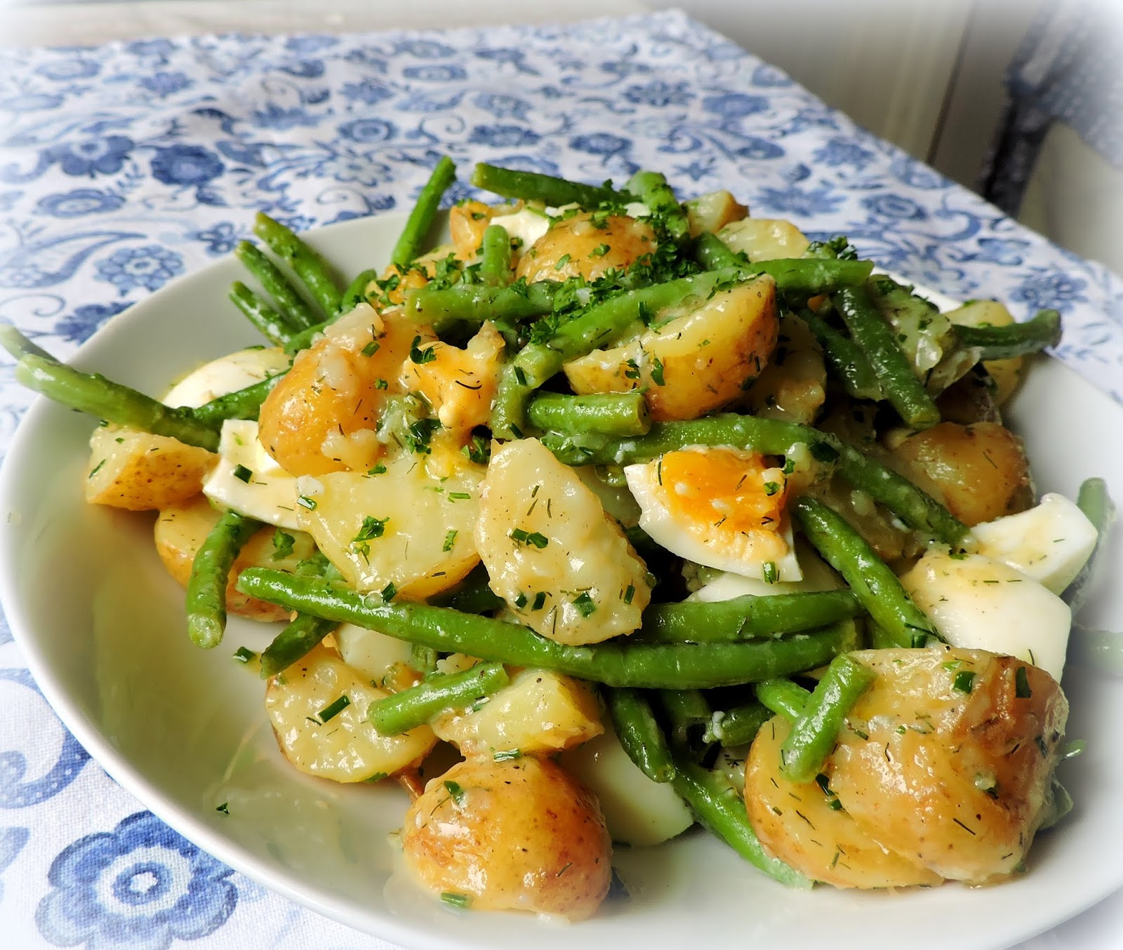 The English Kitchen Potato Egg Green Bean Salad