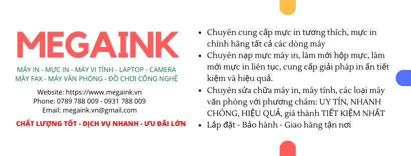 Nạp mực máy in tận nơi TP Hồ Chí Minh