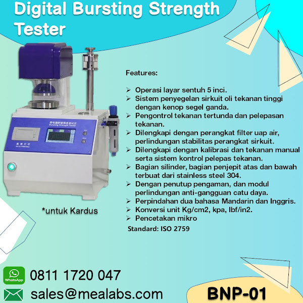 BNP-01 Bursting Strength Tester for Board