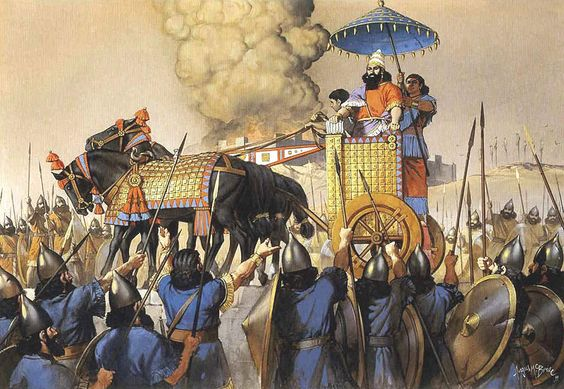 ancient world history assyria