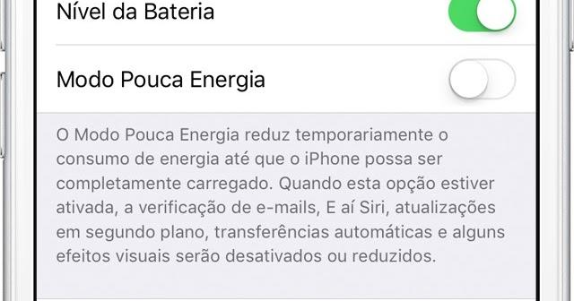 dad675430f3 iOS 11.3 beta 2 traz recurso Saúde da Bateria para o iPhone