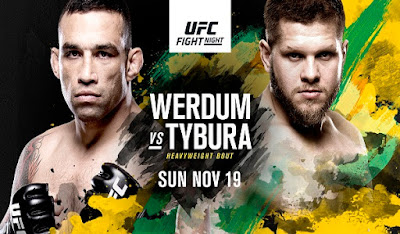Ver UFC Fight Night 121: Werdum vs Tybura En vivo 18/11/2017