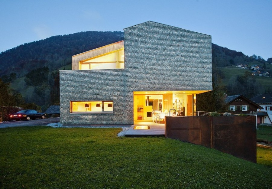 new home designs latest austria modern homes designs. Black Bedroom Furniture Sets. Home Design Ideas
