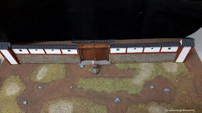 Muralla kuruwa y compuerta