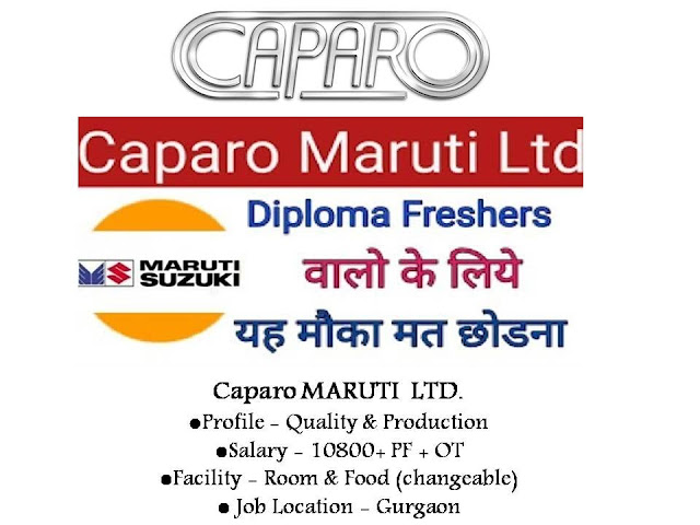 Lumax,Caparo And Gillette Company Drive Jobs Campus Interview For ITI And Diploma Candidates At Lucknow
