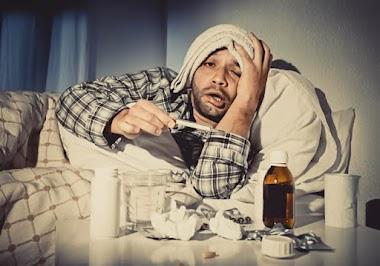 Sintomas exagerados da gripe no homem? Não é drama!