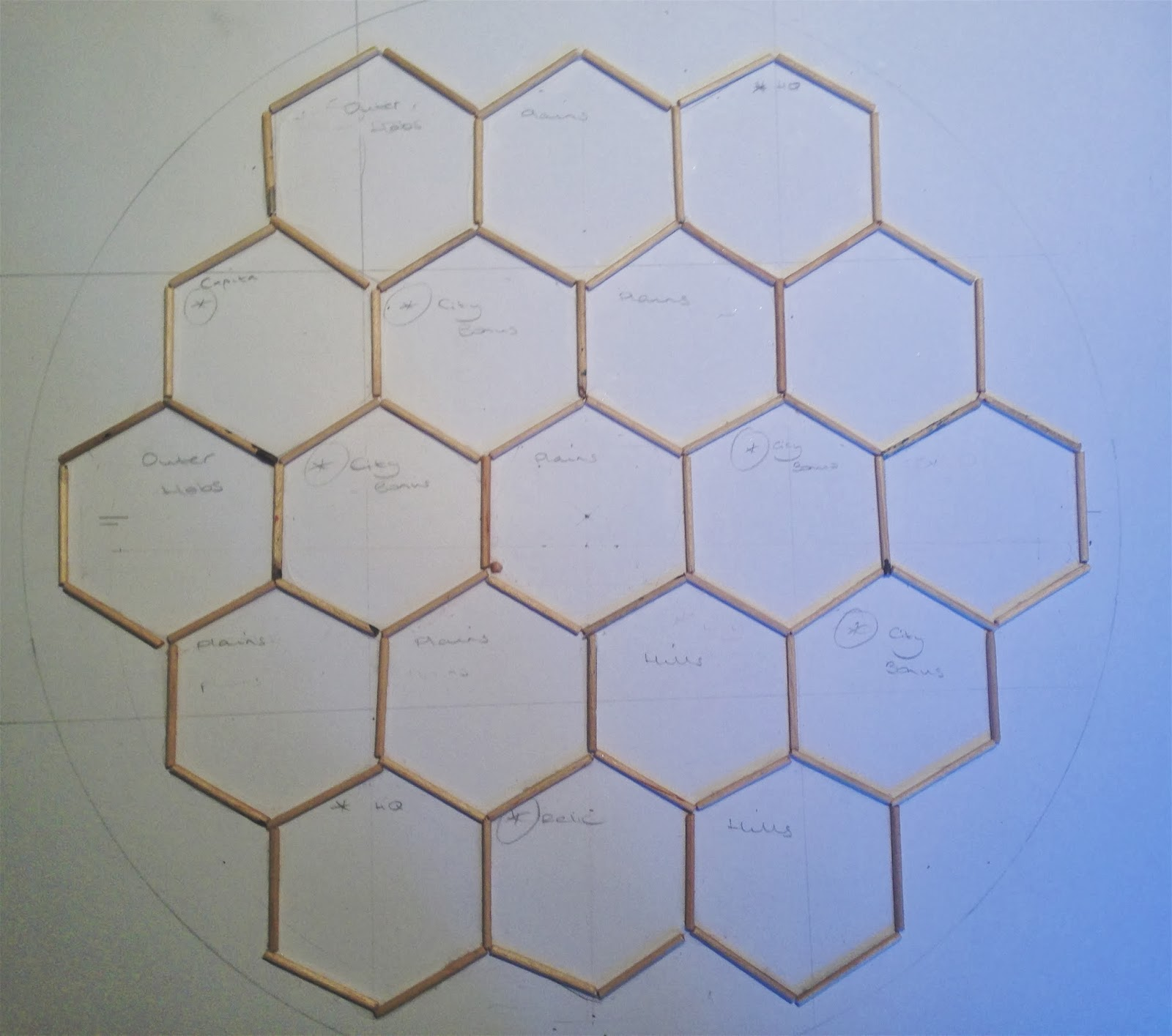Create Your Own Campaign - Making A Campaign Hexagon Map