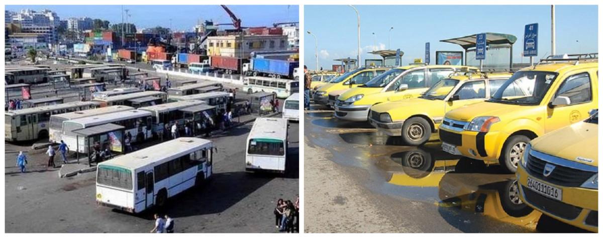 نقابات قطاع النقل في الجزائر تطرح مشكل تدهور وقدم الحظيرة الوطنية لسيارات الأجرة والحافلات والشاحنات