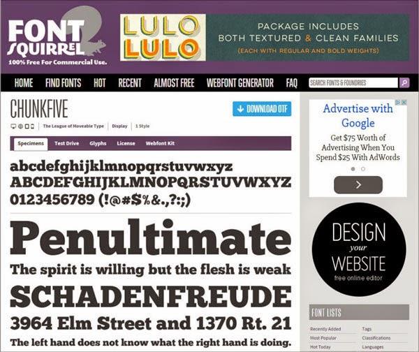 Tools Web Design Professional Font Squirrel