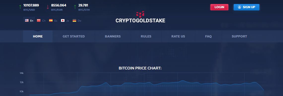 Мошеннический сайт cryptogoldstake.com – Отзывы, развод, платит или лохотрон? Информация