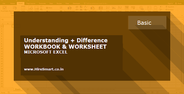 Understanding + Differences Between Workbooks And Worksheets In Microsoft Excel