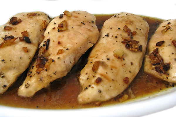 Skinny Garlic Chicken | Weight Watchers Recipe