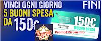 Logo Con Negroni e Fini vinci buoni spesa da 150 euro