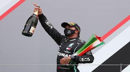 Hamilton ganó el Gran Premio de Portugal y supera el récord de victorias de Schumacher
