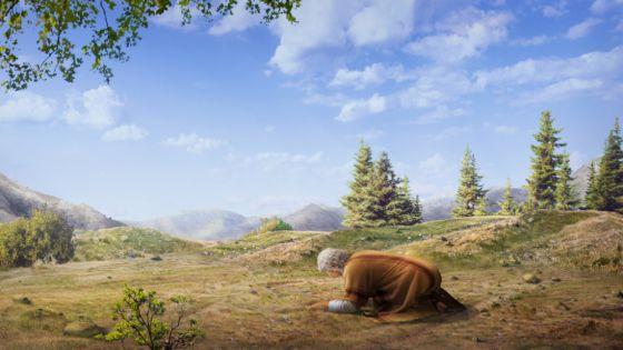 כנסיית האל הכול יכול, ברק ממזרח, אברהם