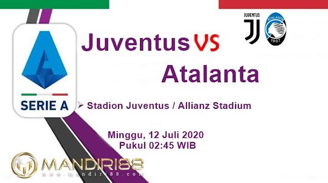 Prediksi Juventus Vs Atalanta, Minggu 12 Juli 2020 Pukul 02.45 WIB @ RCTI