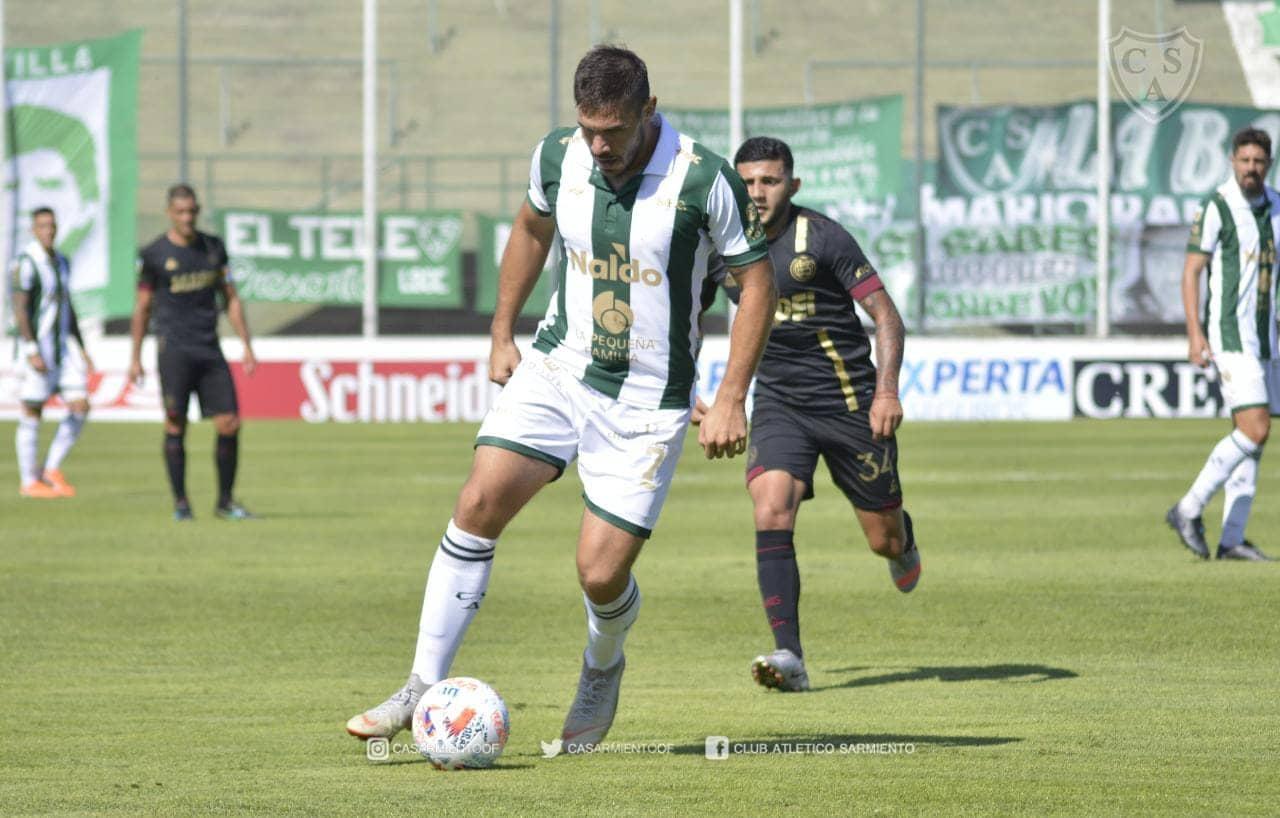 Sarmiento dio la sorpresa y venció a Lanús en Junín