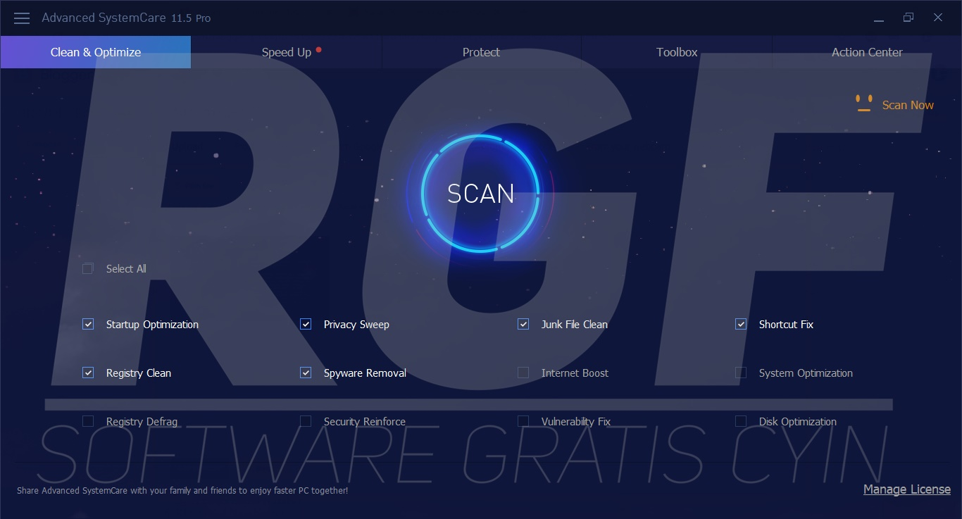 Advanced SystemCare 11.5.0.240 Full Version - Din Download