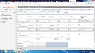 Cara Membuat Tabel Database Menggunakan PHPmyadmin dari XAMPP