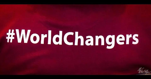 Goodbye to a #worldchanger