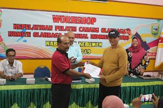 KONI Kebumen Gelar Workshop Kepelatihan Pelatih Cabang Olahraga