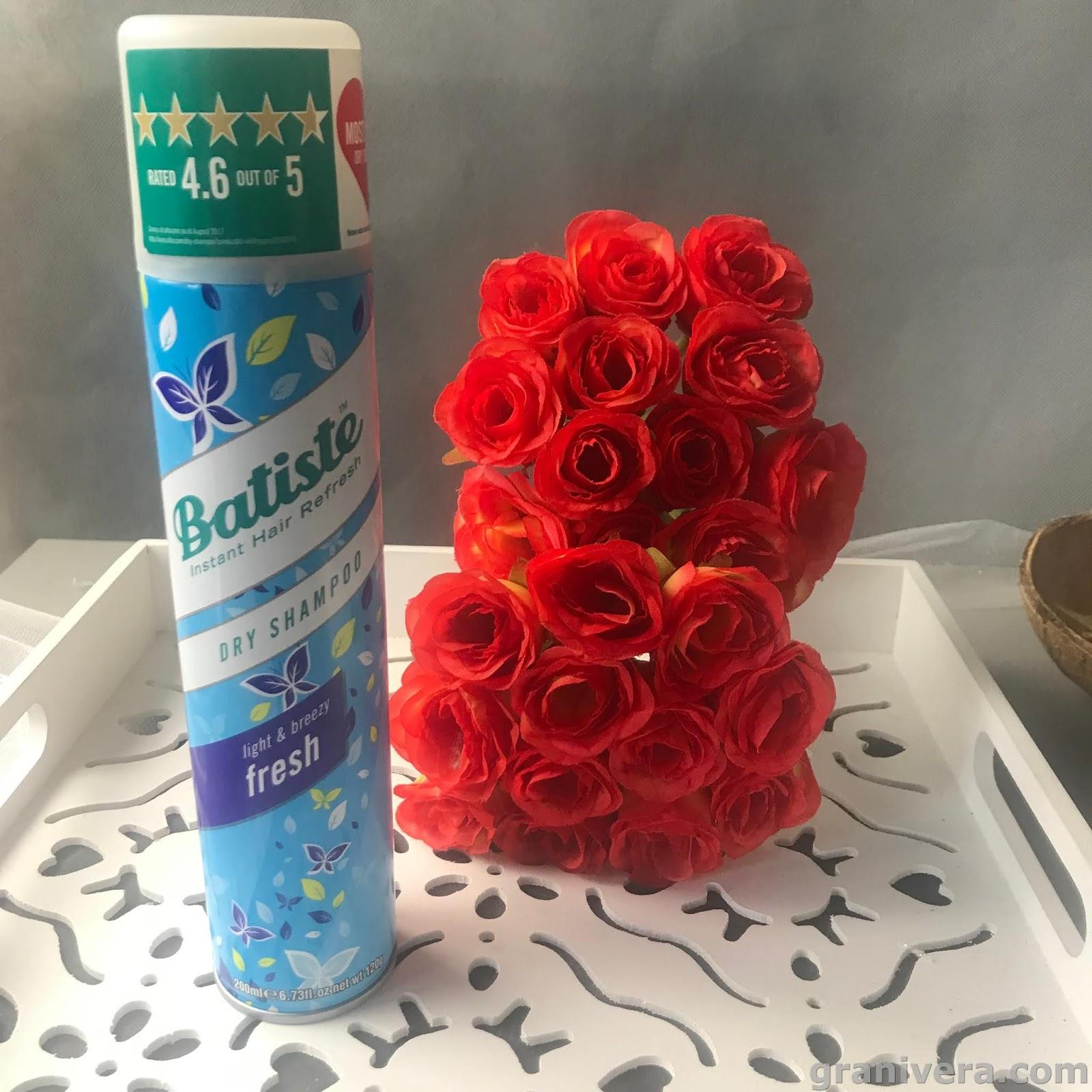 Suchy szampon Batiste light & Breezy Fresh / co to jest , jak często stosować ?