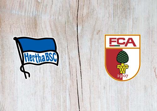Hertha BSC vs Augsburg -Highlights 06 March 2021