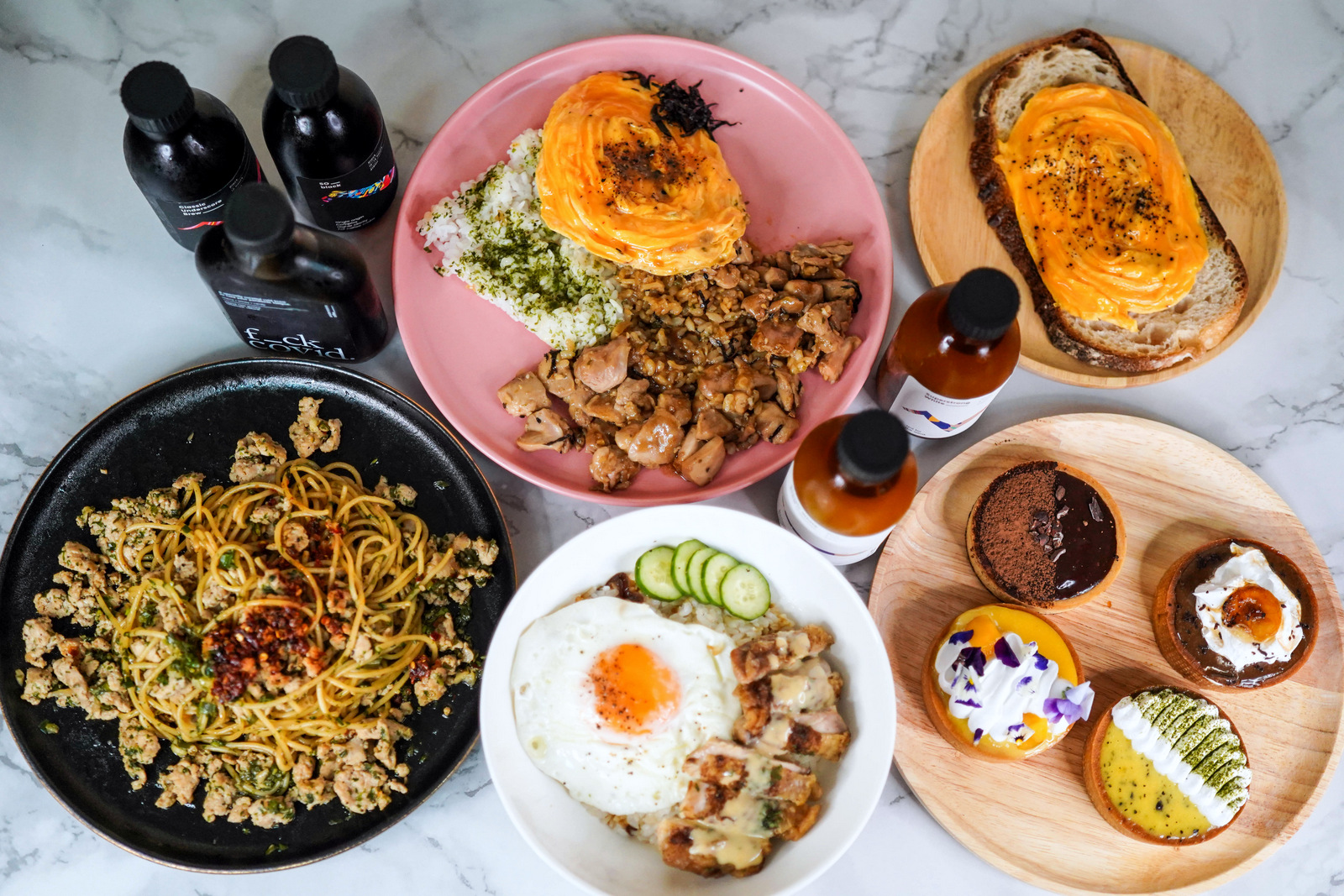 Underscore Coffee: Cold brews, cool tarts & comfort food for delivery