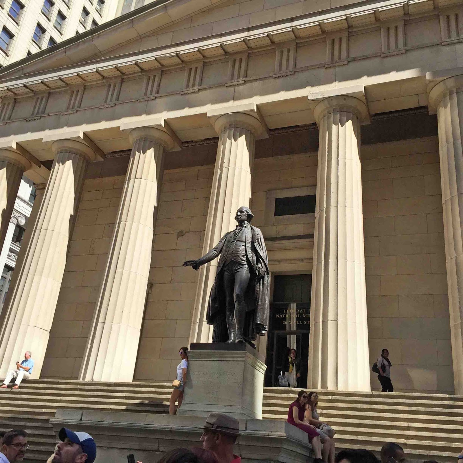 MARIETTE'S BACK TO BASICS: {Federal Hall National Memorial ...