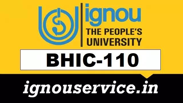 BHIC-110 Solved Assignment Hindi Medium 2021-22