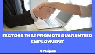 guaranteed employment