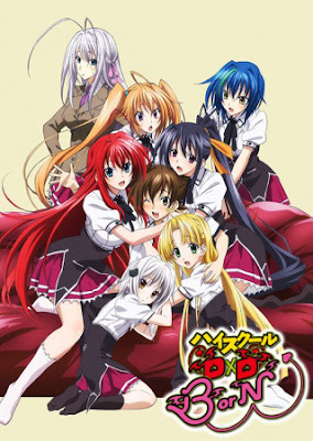 Download Highschool DxD BorN Subtitle Indonesia Batch Episode 1-12 + OVA BD