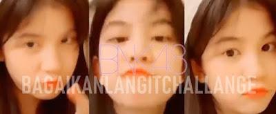 """BNK48 Member Ratah """"Bagaikan Langit Challenge"""" on TikTok"""