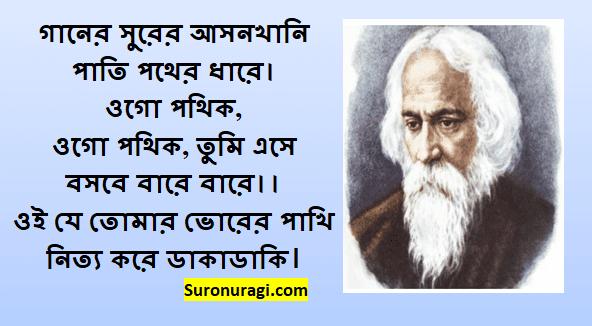 Ganer Surer Asankhani Lyrics | গানের সুরের আসনখানি লিরিক্স