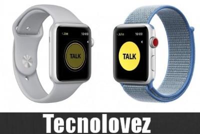 Apple disattiva l'applicazione Walkie Talkie sul suo smartwatch per problemi di sicurezza