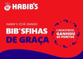 Cadastrar Promoção Esfiha Grátis Habib's 2021 - Habibers Cadastrou, Ganhou