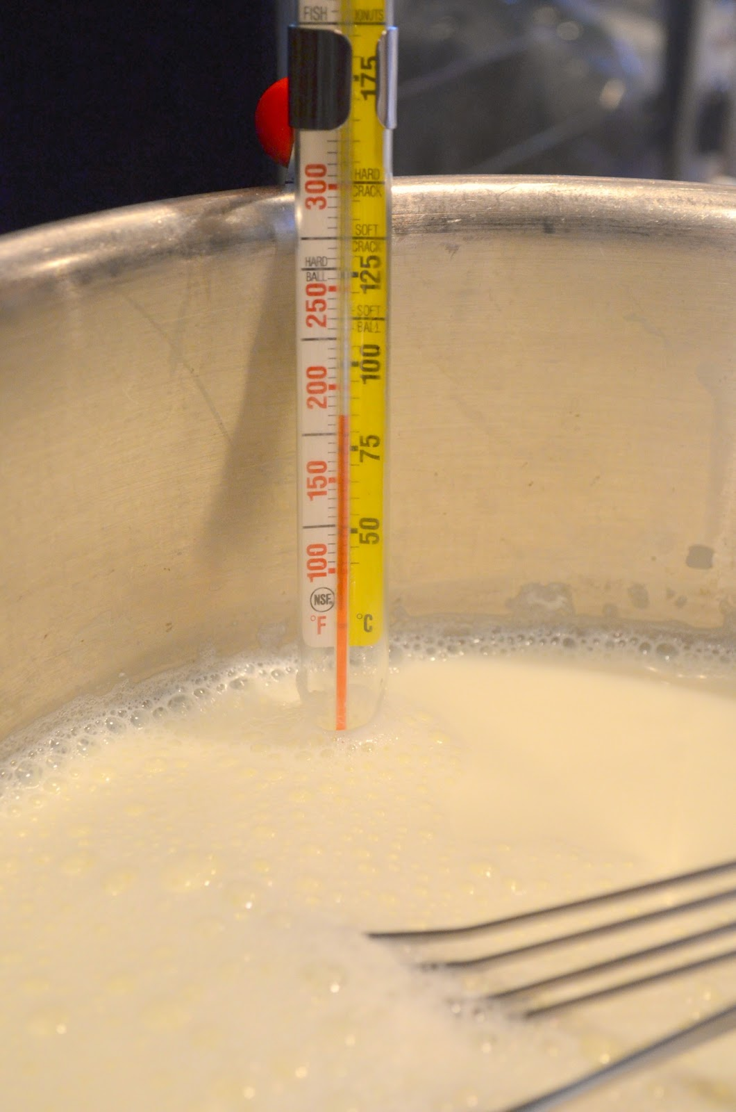 Heat milk to 180 degrees to make Homemade Yogurt from Serena Bakes Simply From Scratch.