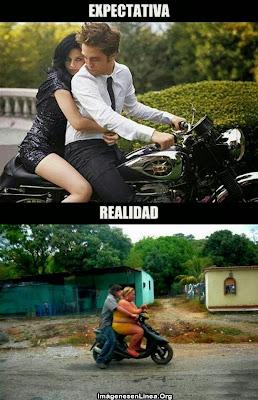 Expectativa vs Realidad: en moto