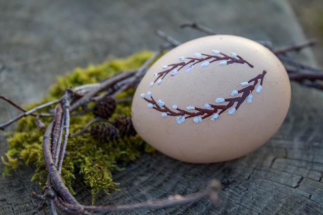 Velikonoční kraslice z vosku - jak na techniku jednoduše