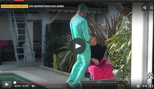 enfermero con sexo oral a paciente
