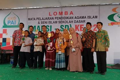 SDIT As Salamah Baturetno Borong 5 Piala Lomba Mapsi Tingkat Kabupaten Wonogiri tahun 2019 Melaju ke provinsi