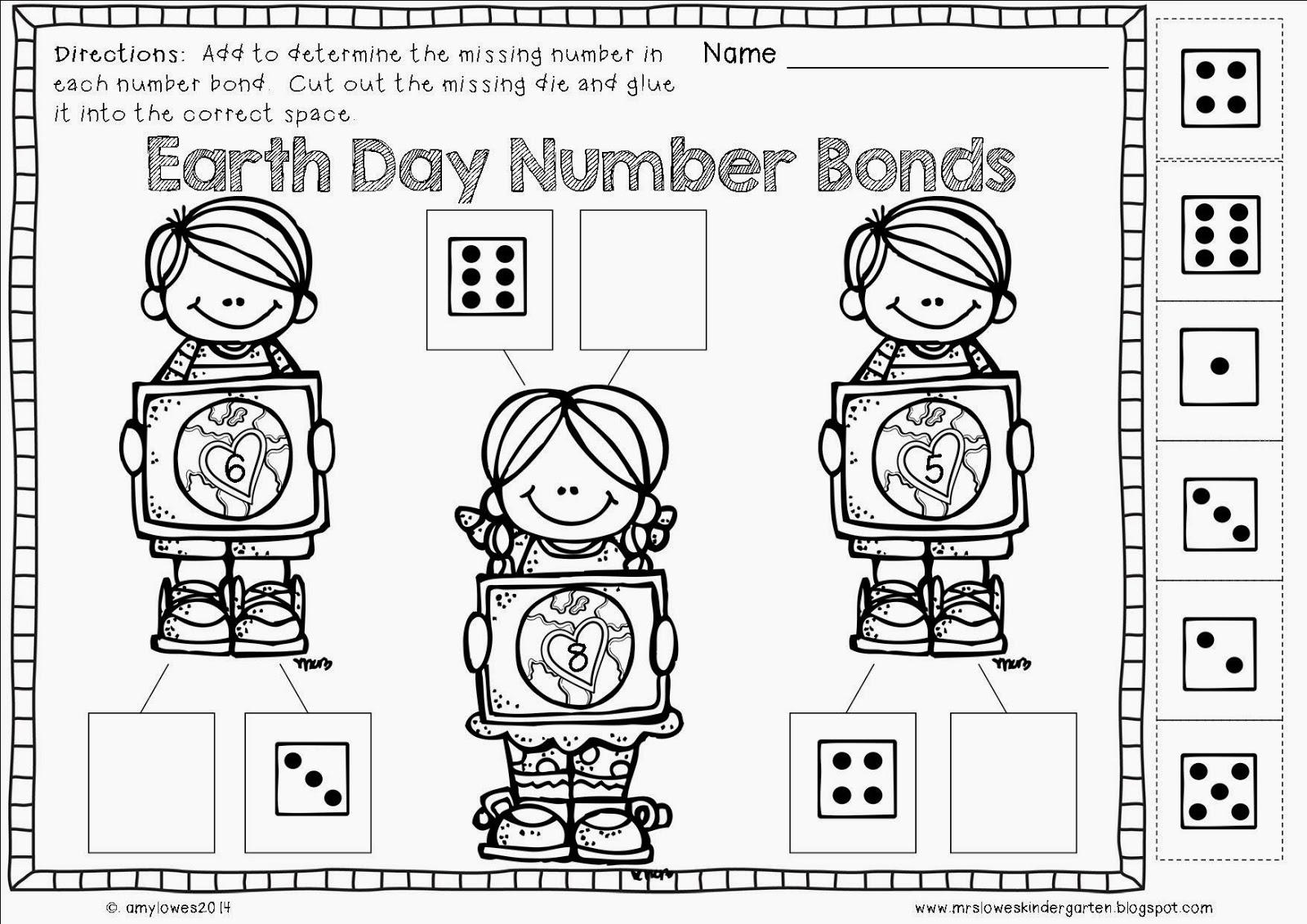 Mrs Lowes Kindergarten Korner No Prep Spring Holiday