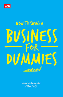 workbook buku bisnis  how to swag a business for dummies