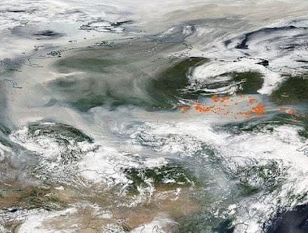 Φωτιά στη Σιβηρία:  Μέχρι τον Βόρειο Πόλο οι καπνοί
