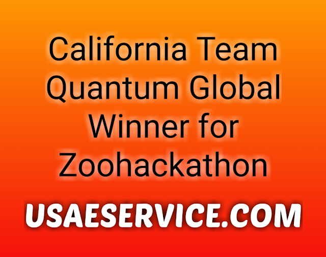 California Quantum Global Winner for Zoohackathon