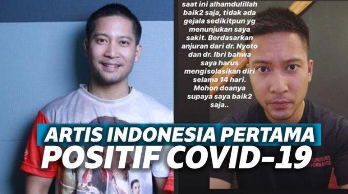 Setelah Mentri, Artis Indonesia Detri Warmanto Juga Dinyatakan Positif Covid-19